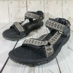 *Flaws* Teva Mens Size 12 Spider Rubber Terra Fi Hiking Sport Sandals 6653