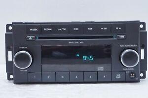 2009-2010 Jeep Chrysler Dodge Radio AM/FM CD MP3 Player OEM P/N: P68021159AE