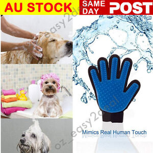 AU Cleaning Brush Magic Glove Pet Dog Cat Massage Hair Removal Grooming Groomer