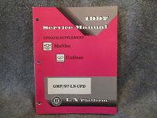 1997 Chevrolet Malibu Oldsmobile Cutlass Service Manual Supplement Guide W381