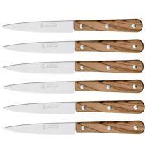 6 couteaux Office la Fourmi Couteau Pointu Français Affutable Lame 10cm 3 Rivets