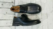 NEW Clarks Escalade Step Black Leather Loafers MEN'S SZ 11.5 EU 45