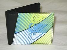 BNWT QUIKSILVER  Synthetic Leather Bifold Coin Wallet -  Black