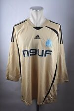 Olympique Marseille Trikot Gr. XL Adidas 2008/2009 n9uf maillot Jersey