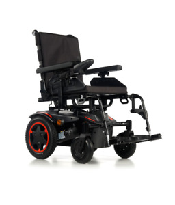 Quickie Q100R WITH KERB CLIMBER POWERED WHEELCHAIR HURRY XS STOCK SALE