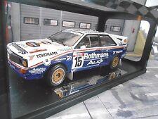 AUDI Quattro Rallye Gr.B Antibes 1986 #15 Bosch Bond Rothma ns NEU Sunstar 1:18
