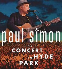 PAUL SIMON New Sealed 2017 LIVE HYDE PARK CONCERT BLU RAY & 2 CD BOXSET