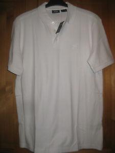 FILA Herrenpoloshirt Gr.L 52 weiß Top neu sportlich 100% Baumwolle