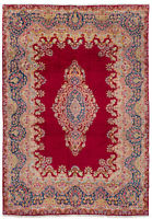 """Hand-knotted Carpet 8'9"""" x 12'9"""" Traditional Vintage Wool Rug"""