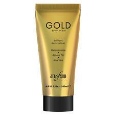"""Art of Sun """"GOLD brilliant dark tanner"""" 200 ml Solariumkosmetik Solarium Lotion"""