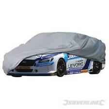Silverline Large Car Cover 4820x1190x1770mm Fits Audi A5, Ford Focus, Astra