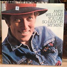 [ROCK/POP]~EXC LP~ANDY WILLIAMS~You Lay So Easy On My Mind~[OG 1974~CBS~Issue]