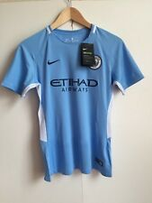 Manchester City Nike Prem 2017/18 Home Women's Kit - Medium - De Bruyne - New