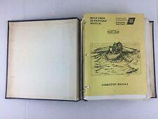 Boat Crew Seamanship Manual by U.S. Coast Guard 1985, 3-Ring Binder