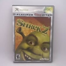 Shrek 2 Original Xbox Game Complete With Manual Tested Used