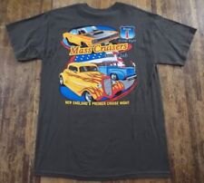Mass. Cruisers Auto Club S/S 100% Cotton Graphic T Shirt Size M (NWOT)