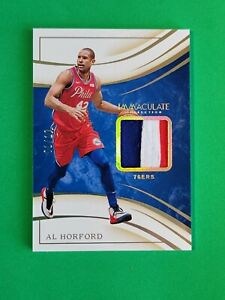 2019-20 Immaculate Material Gold SP /10 #39 Al Horford Philadelphia 76ers S5920K