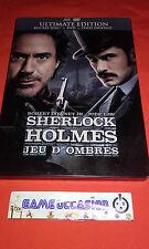 SHERLOCK HOLMES JEU D'OMBRES ROBERT DOWNEY JR JUDE LAW ULTIMATE EDITION 2 DVD