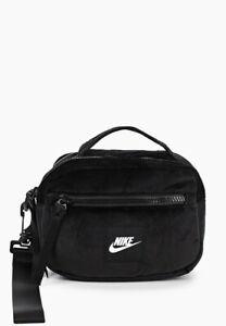 Nike Winterized Utility Bag Small Items Black Velour Bag  Velour  Polyester