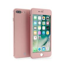 Mobilyos iPhone 7 PLUS Rose Gold Case 360 Full Body Protection Hard Slim Case