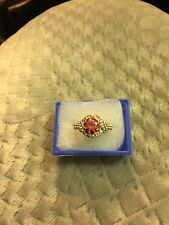 Lovely 14k GF Ruby  Ring, size 19