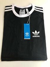 Mens Adidas Originals T Shirt California Tee Black White Blue Red All sizes SALE