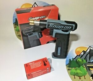 NEW 2021 SNAP ON GREY BUTANE GAS TORCH TORCH300DT *RARE PLATINUM* Fast Ship!