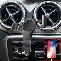 1*360° Phone Holder Car Air Vent Mount for Mercedes Benz GLA CLA A-Class B-Class
