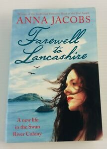 Farewell to Lancashire By Anna Jacobs Historical Fiction Medium Paperback Book