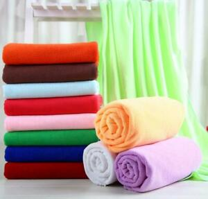 2 Pack 100% Egyptian Cotton Guest Towels Hand Towels Face Cloth Flannels 30X50