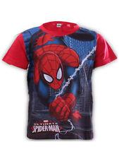 T-shirts, débardeurs et chemises rouge à manches courtes à 6 ans pour garçon de 2 à 16 ans
