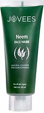 Jovees Neem Face Wash for Acne and Pimples to Improve Skin Complexion 120ml