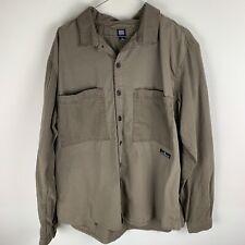 BDG Brown Cargo Shirt LARGE