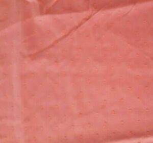 Dotted Swiss Batiste BTY Unbranded Cut Dots Orange 100% Cotton