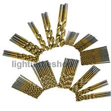 99 x Spiralbohrer Stahlbohrer Bohrer Set HSS Titanium Metallbohrer 1,5mm-10mm