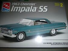 AMT 1963 CHEVY IMPALA SS HARDTOP 1/25 Model Car Mountain KIT FS 8321