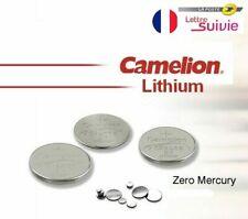 Camelion piles bouton lithium 3V CR2032 CR2025 CR2016 CR2430 CR2450 CR1632 CR927