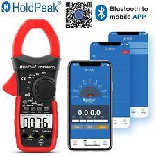Digital Clamp Meter AC/DC Current Volt 4000 Count 1000A Handheld Tester 570C-APP