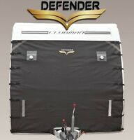 Defender Caravan Front Towing Cover Protector Universal Protection Charcoal Grey