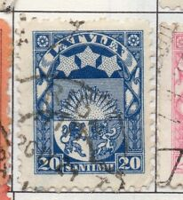 Latvia 1923 Early Issue Fine Used 20s. 182335