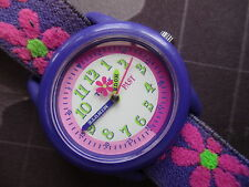 VINTAGE LEARN TO TELL TIME   TIMEX WATCH,,RUNNING USED