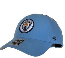 8244f0f8925 Men s Manchester City EPL 47 Brand MVP Powder Blue Adjustable Hat Cap OSFM