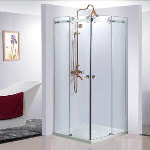 Frameless 10mm Glass Bathroom Shower showerscreen 900*900