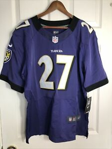 Men's Baltimore Ravens NFL Nike On Field Stitched Jersey Rice #27 Size 40 NWT