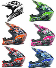 Wulfsport Unisex Youth Graphic Motorcycle Helmets