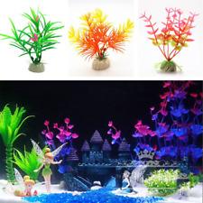 1/3/5/10pcs Artificial Water Grass Fish Tank Decorations Aquarium Ornaments New