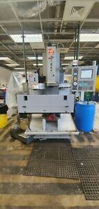 Used Haas TM-1 CNC Vertical Machining Center Mill 10 Station ATC Coolant USB '06