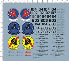 Detail Up 1/48 USAF US AirForce F-14 VF-1 VFA-213 Tomcat Fighter Model Kit Decal