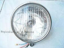 Honda S90 SL90 CT70 CL70 C200 CD65 CD70 ST50 ST70 CF50 CF70 Head Light Assy 6V.