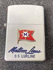 Vintage Matson Lines S.S. Monterey Cigarette Lighter Made Japan